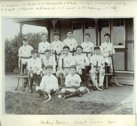 Claude John Pym, Fonthill Hockey 1905