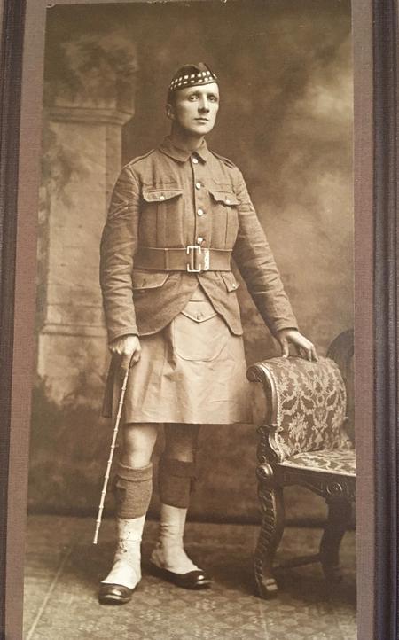 Private Walter Imlah, 1903, aged 21.
