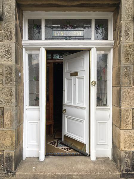 'Lyndhurst' home of the Sandison family, Buckie