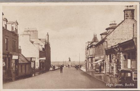 High Street, Buckie c. 1926