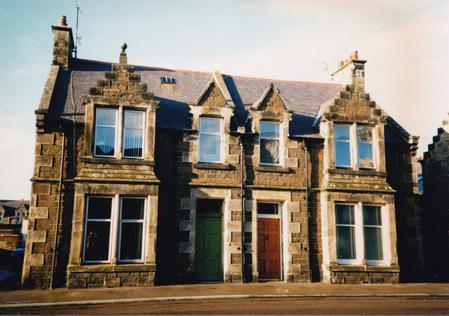 Easthaven (on the right), West Church St., Buckie