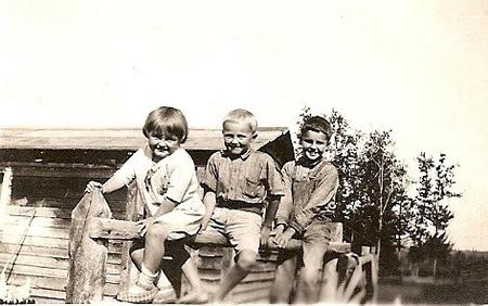 First 3 Galbraith children