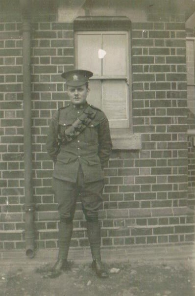 Barry Galbraith in C.E.F. uniform