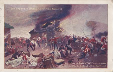 South Wales Borderers 'Rorke's Drift' postcard