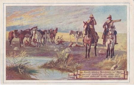 South Wales Borderers 'Horses' postcard
