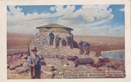 South Wales Borderers 'Garrison' postcard