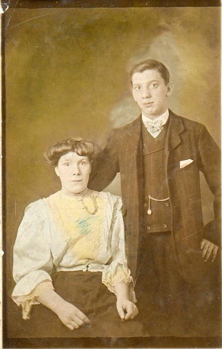 Albert Edmund and Isabella Bedwell