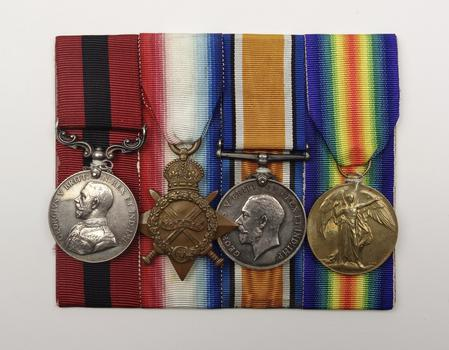 Frank Thickett's DCM Medal Group