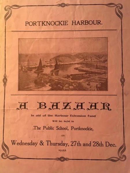 Portknockie Harbour Bazaar 1922