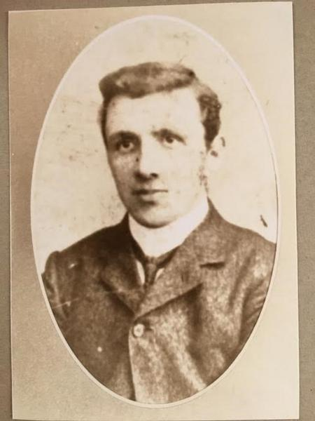 Walter Imlah as a young man (undated)