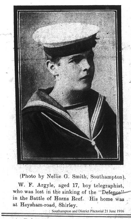 Profile picture for William Frederick Argyle