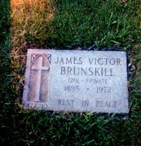 James Victor Brunskill 1895-1972