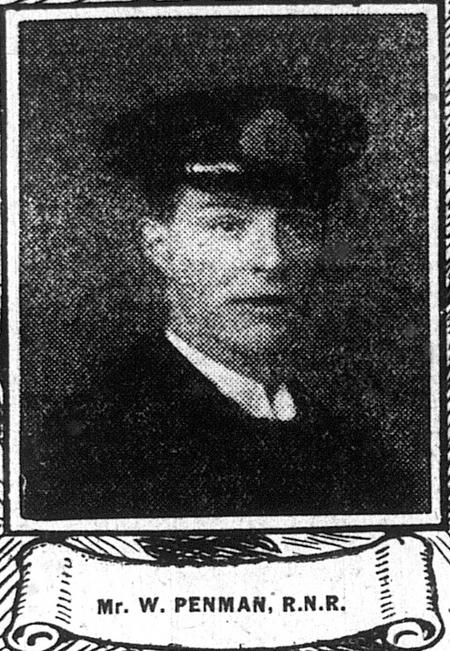 Profile picture for William John Buglass Penman