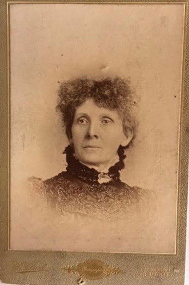 Walter Imlah's mother, Mary Mackay Imlah