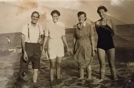 Alfred, Vera, Lilian and Iris