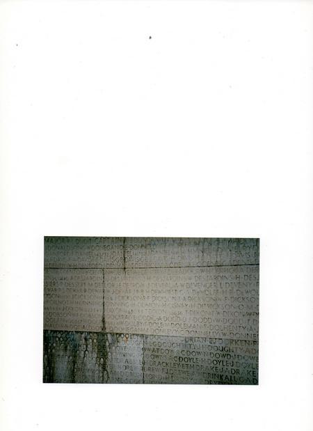 Henry Dismon recorded on Vimy Ridge Memorial