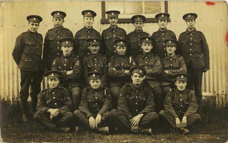 The Boys from Halifax - at Fargo Military Hospital