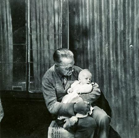 RT Sanders with Grandson