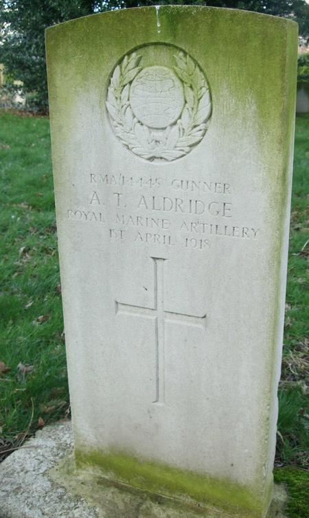 Profile picture for Albert Thomas Aldridge