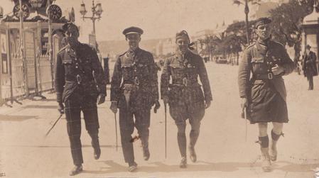 Walter Imlah in Nice, France 1916