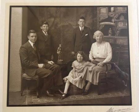 The Imlah Family, Buckie, July 1935