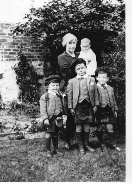 The Imlah Family after Walter Imlah had died 1926