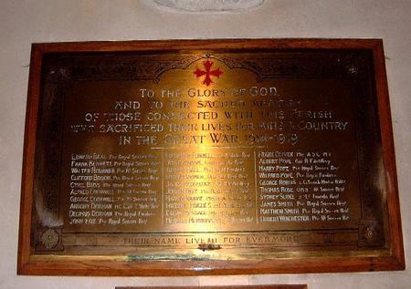Warbleton War Memorial