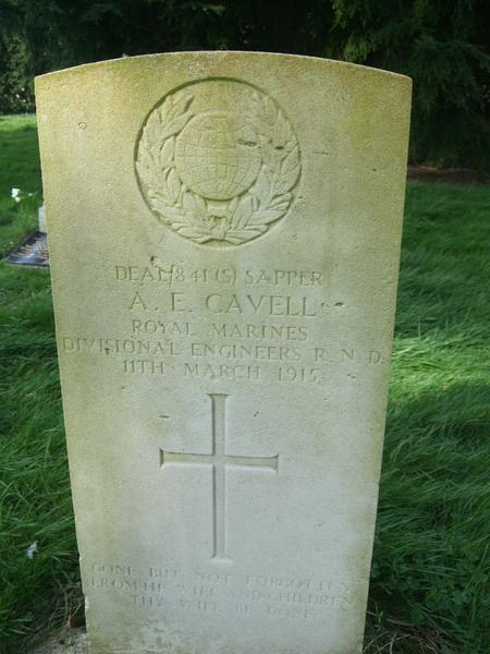 Profile picture for Alfred Edward Cavell