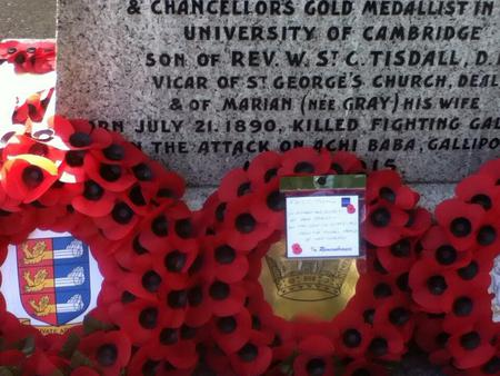 Wreaths laid in Arthur's memory in Deal
