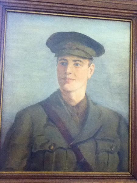 Close up of portrait