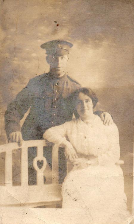 Henry Dismon and wife Isabel nee Brettell