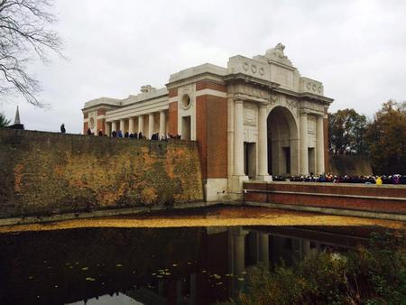 Ypres ( Menin Gate ) Memorial.