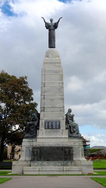 Ashton Gardens War Memorial.