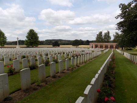 Heilly Station Cemetery, Mericourt-L'Abbe, Somme