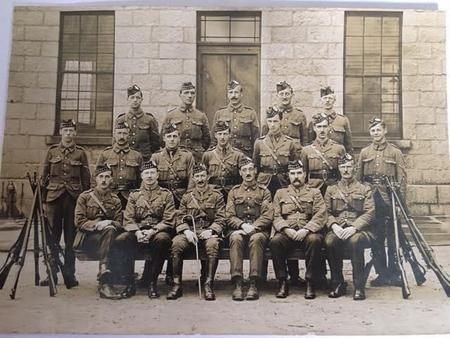 Walter Imlah in 3rd V.B. Seaforth Highlanders 1905