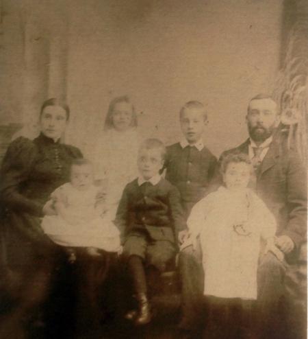 Family Photograph circa 1896-97