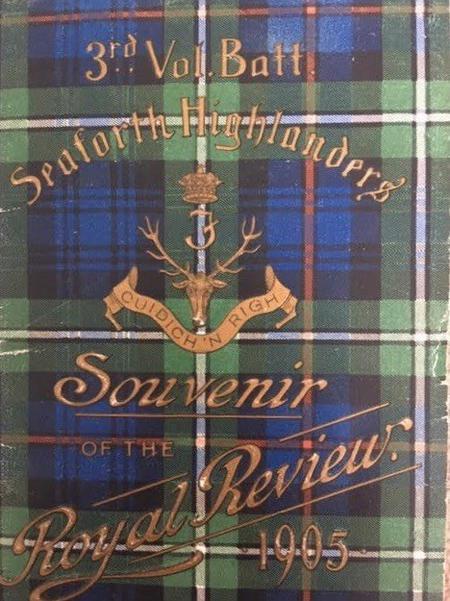 3rd V B Seaforths at Royal Review 1905