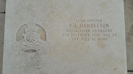 Profile picture for Philip Edward Hambleton