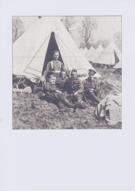 Private William Francis Eve, autumn 1914