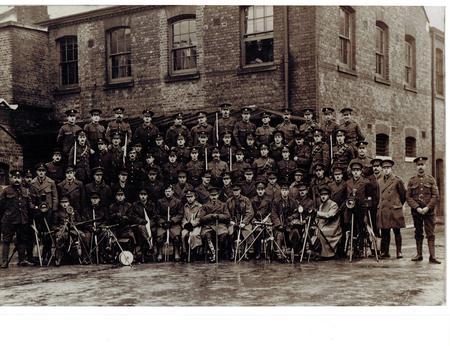 Signalling class, December 1915