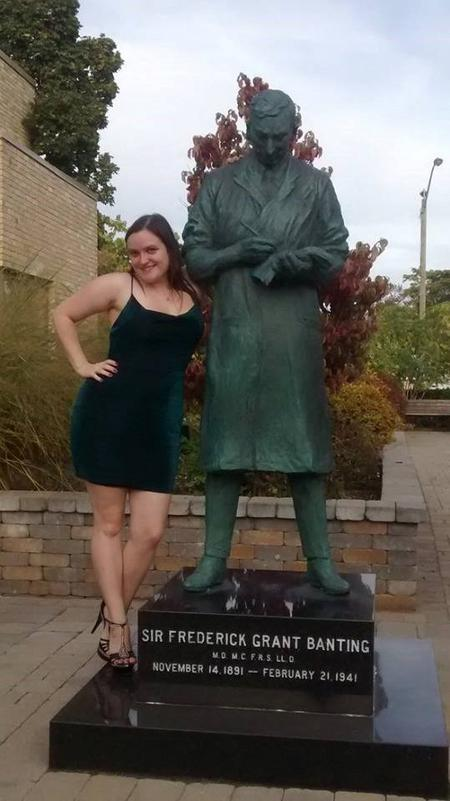 Banting Statue in London, ON