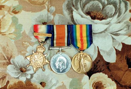 Grandpa's medals