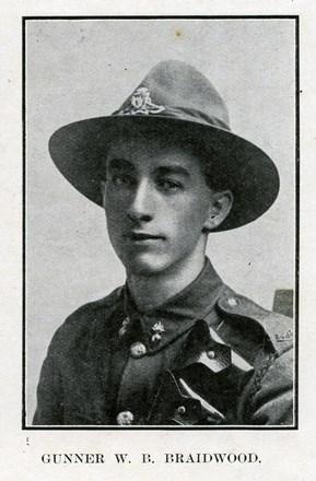 Profile picture for William Brown Braidwood