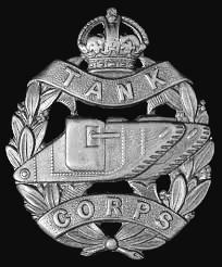 Tank Corps Cap Insignia