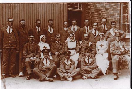 Percy Payne - back row; far left