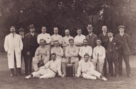Calendar's Cables cricket team