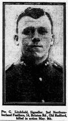 Profile picture for George Litchfield