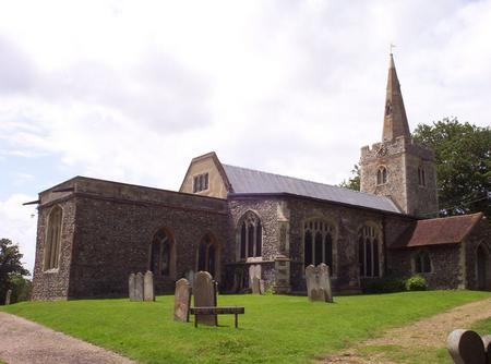 St Mary's church, Polstead