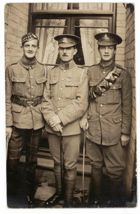 Wilson brothers and William Buckingham VC
