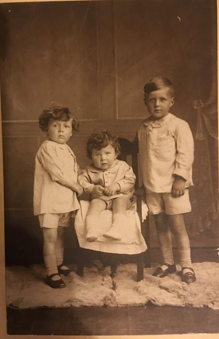 Baby Keith Imlah arrives 1923